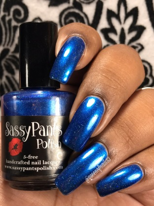 Sassy Pants Polish - Help the Hoo-has w/ glossy tc