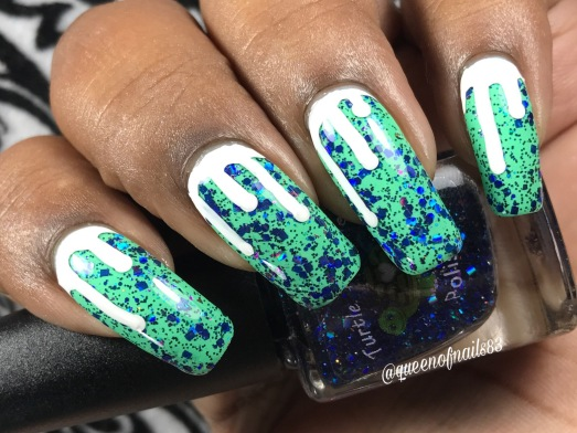 Virgo w/ nail art