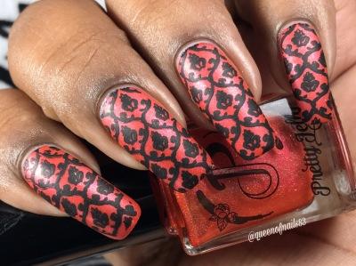 Pretty Jelly: Lights & Theatrics w/ nail art