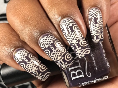 The Prestige w/ nail art