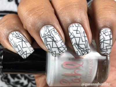 The Penguin w/ nail art