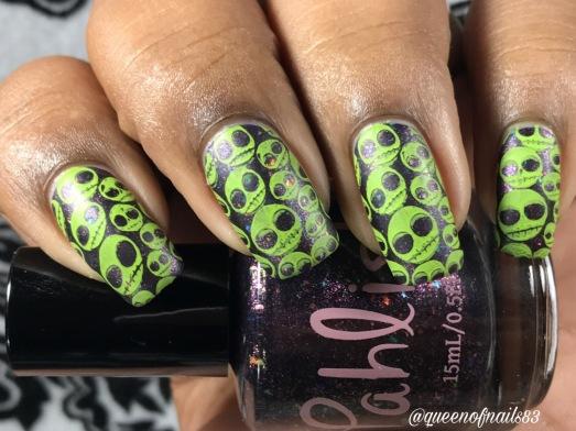 Jake & Elwood w/ nail art
