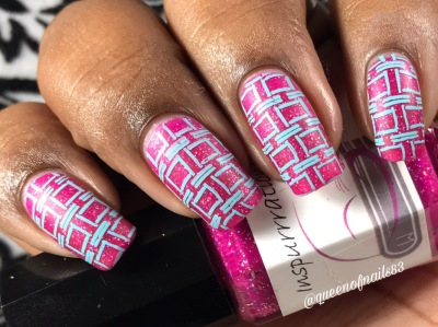 """Inspurrrations Nail Polish - Jeremiah 31:13 """"Young women will dance and be glad, I will give them comfort and joy instead of sorrow"""" w/ nail art"""