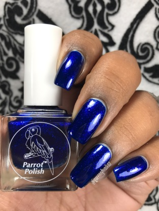 "Parrot Polish - ""Addie Mae"" w/ glossy tc"