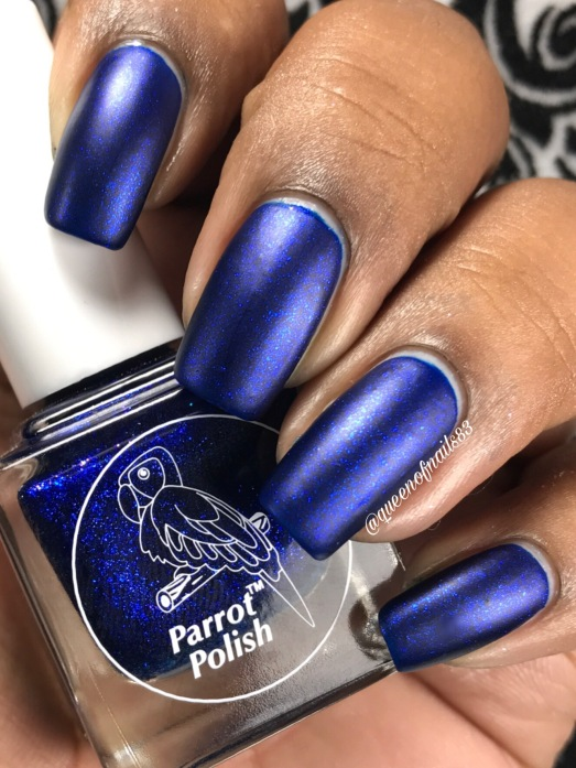 "Parrot Polish - ""Addie Mae"" w/ matte tc"