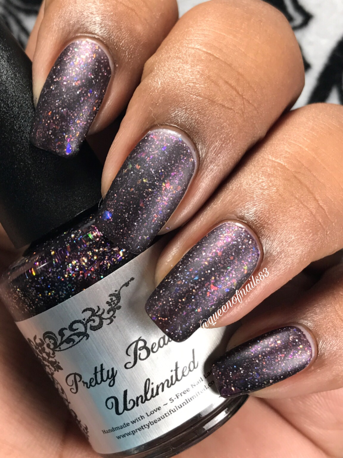 Glitter Nail Polish And Mri | Hession Hairdressing