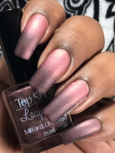 Top Shelf Lacquer / You're so full of shift! w/ matte tc