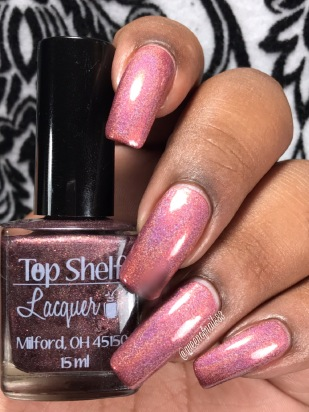 Top Shelf Lacquer / You're so full of shift! w/ glossy tc