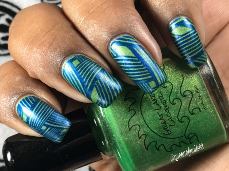 The Grass Is Greener For A Reason w/ nail art