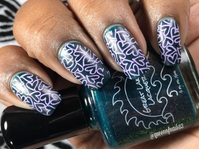 Bristol w/ nail art