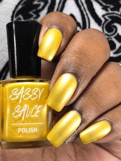 Shimmer Me Lemons - w/ glossy tc