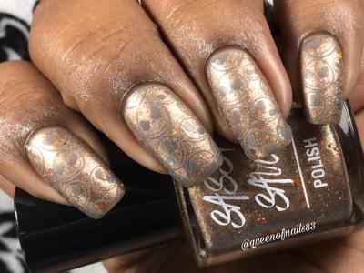 I Fall Brown - w/ nail art