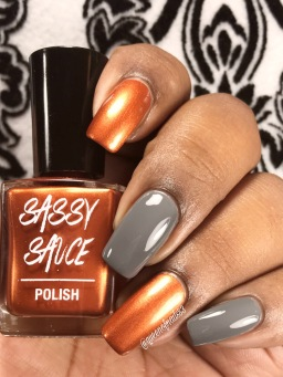 Slate and Copper Stamping Sauce - w/ glossy tc