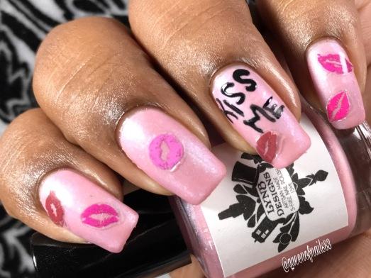 Millennium Park Pink - w/ nail art