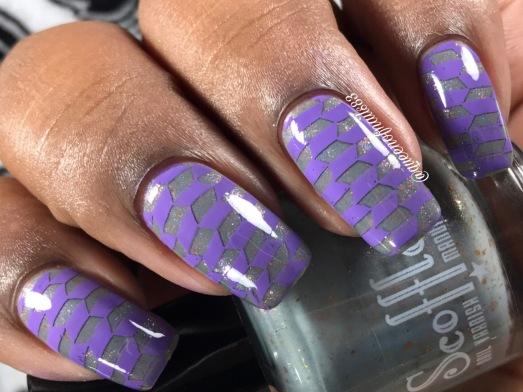 Karma Police - w/ nail art