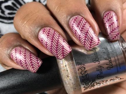 Berries & Frost w/ nail art