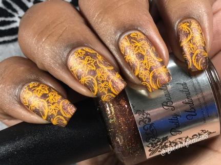 Mulled Cider w/ nail art