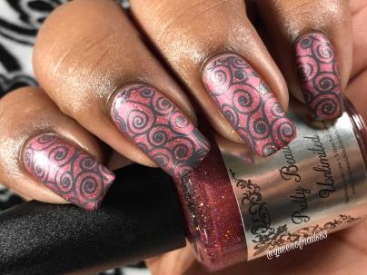 Autumn Sunset w/ nail art