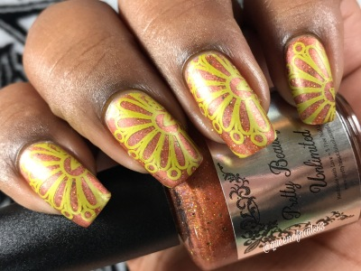 Pumpkin Everything w/ nail art
