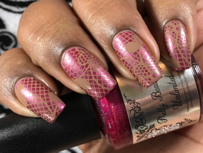 Spiked Cider w/ nail art
