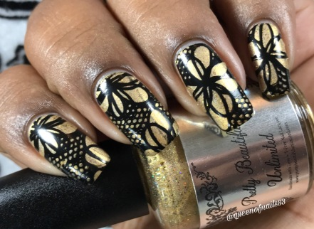 Autumn Sun & Chrysanthemums w/ nail art