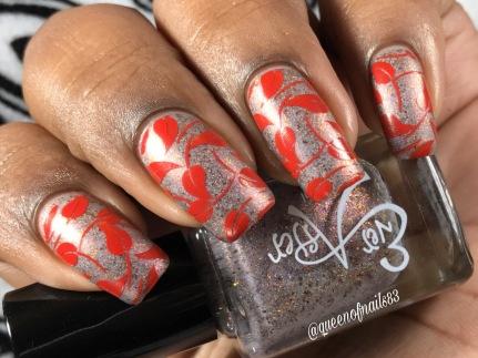 Dear Sweet Littlefoot w/ nail art