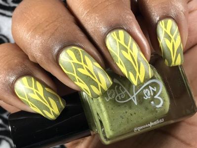 Yup, Yup, Yup w/ nail art