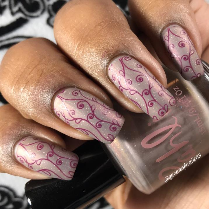 Pahlish - Wild Rumpus w/ nail art