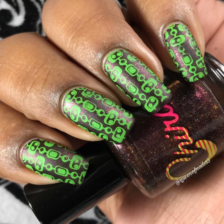 Chirality - 1984 w/ nail art
