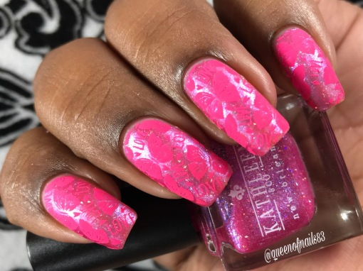 Kathleen & Co. - Angel Wings w/ nail art