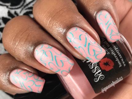 Sassy Pant Polish - Save the Ta-Tas w/ nail art