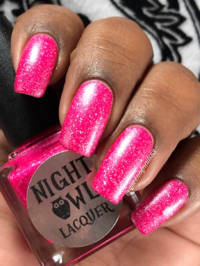 Night Owl Lacquer - Save the Hooters w/ matte tc