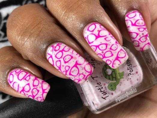 October w/ nail art