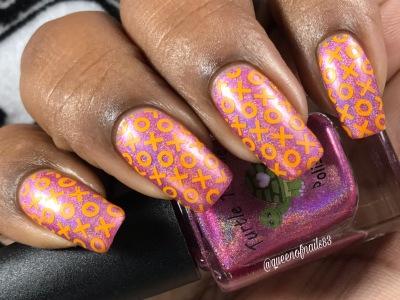 Tourmaline w/ nail art