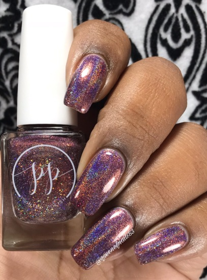 Fall into Zen: The Holos - Mulberry Musings w/ glossy tc