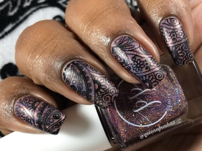 Fall into Zen: The Holos - Mulberry Musings w/ nail art