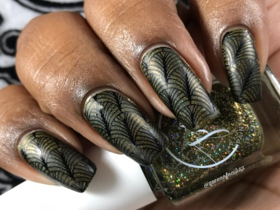 Fall into Zen: The Holos - Moss Meditation w/ nail art