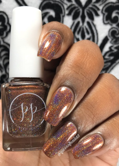 Fall into Zen: The Holos - Mocha Mantra w/ glossy tc