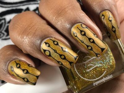 Fall into Zen: The Holos - Mellow Mustard w/ nail art
