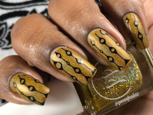 Fall into Zen: The Holos - Mellow Mustard w/ nail art