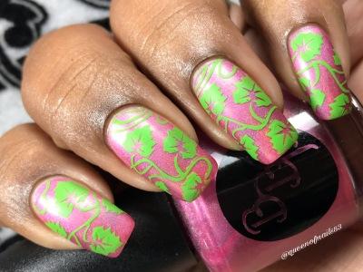 Tourmaline Crown w/ nail art