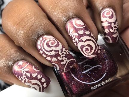 HHC - Dewdrop Dreams w/ nail art