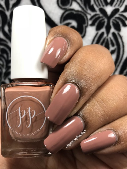 Fall into Zen: The Cremes - Stamped in Mocha w/ glossy tc