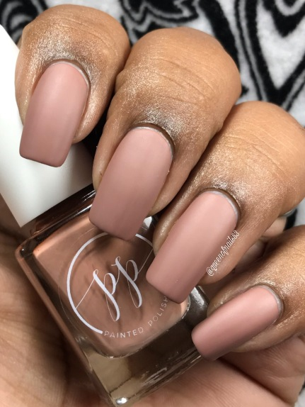 Fall into Zen: The Cremes - Stamped in Mocha w/ matte tc