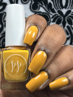 Fall into Zen: The Cremes - Stamped in Mustard w/ glossy tc
