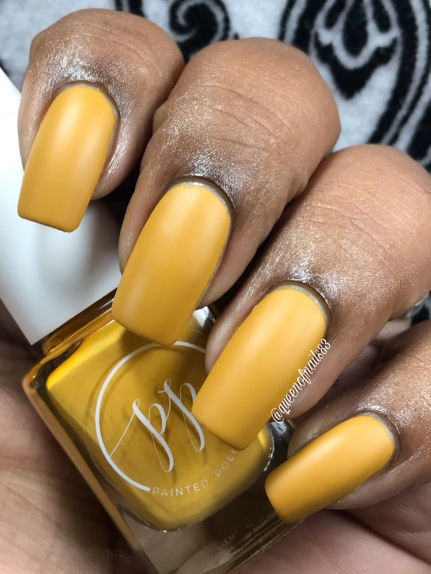 Fall into Zen: The Cremes - Stamped in Mustard w/ matte tc