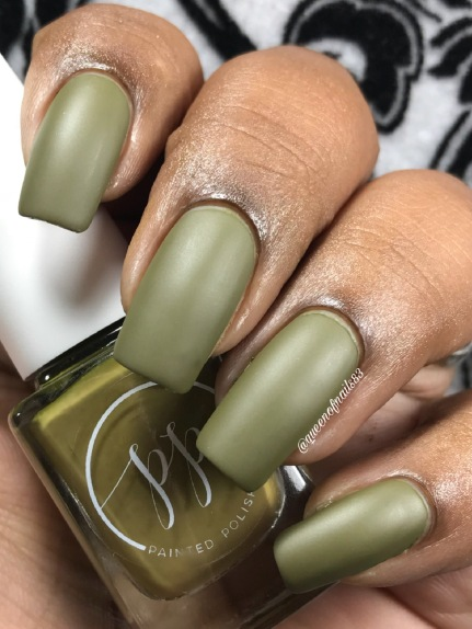 Fall into Zen: The Cremes - Stamped in Moss w/ matte tc