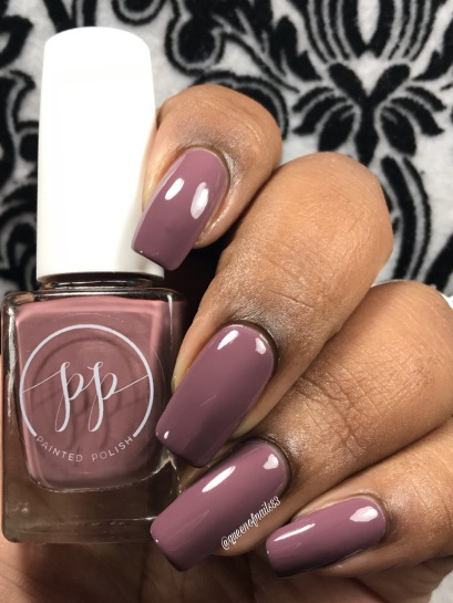 Fall into Zen: The Cremes - Stamped in Mulberry w/ glossy tc