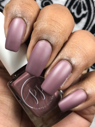 Fall into Zen: The Cremes - Stamped in Mulberry w/ matte tc