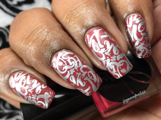 Burning Embers w/ nail art